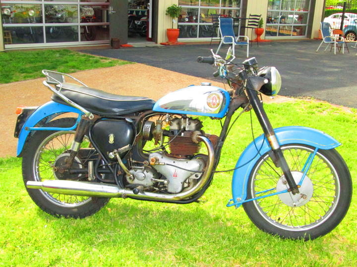 1958 BSA 650 Golden Flash