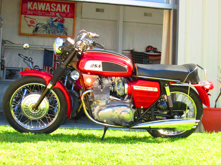 1969 BSA Rocket Three