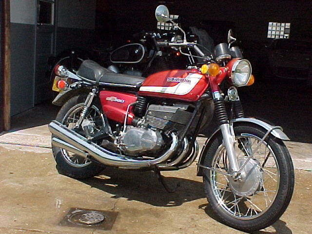 Suzuki 380 Motorcycle