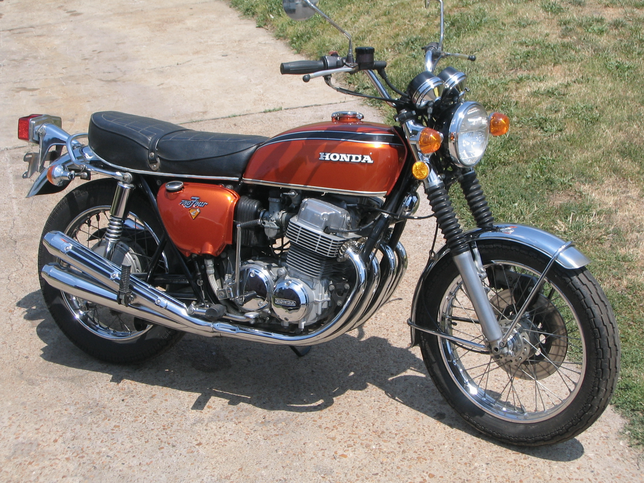 1972 honda cb 750 parts pictures to pin on pinterest