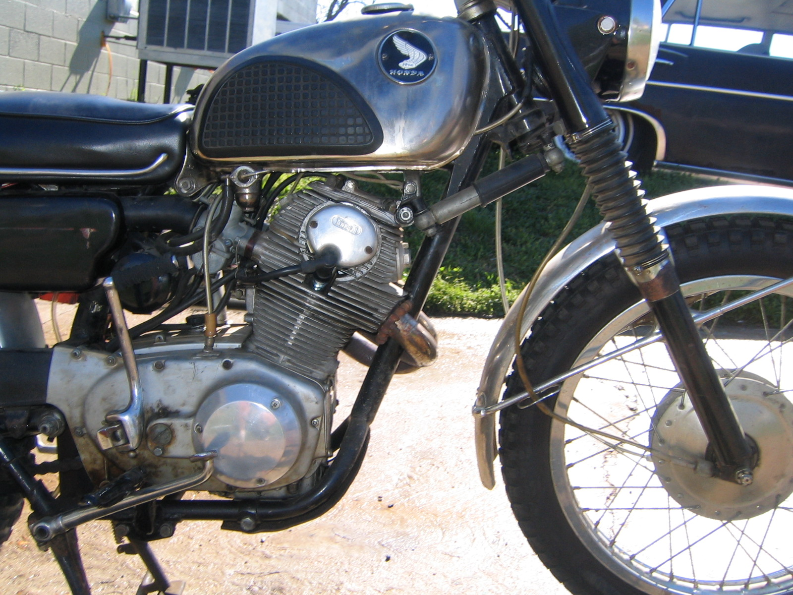 1965 honda cl 77 305 scrambler 65 Honda CA77